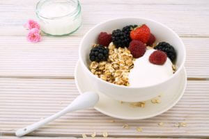 Raw Yogurt and Butter
